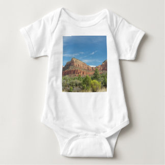 Red rocks in Sedona Baby Bodysuit