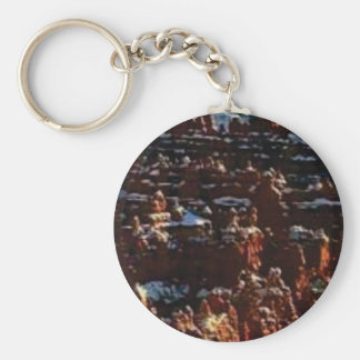 red rocks on the mountain glory key ring