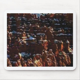 red rocks on the mountain glory mouse pad