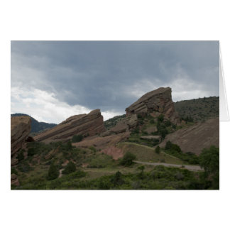 Red Rocks Park Colorado Card