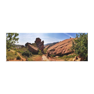 Red Rocks Park, Denver, CO Canvas Print
