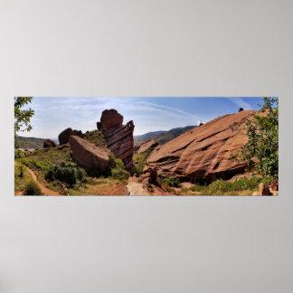 Red Rocks Park, Denver, CO Poster