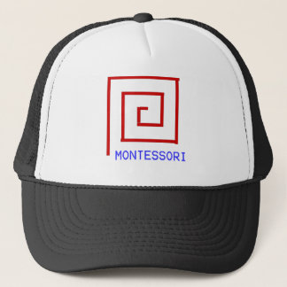 Red Rods Montessori Trucker Hat