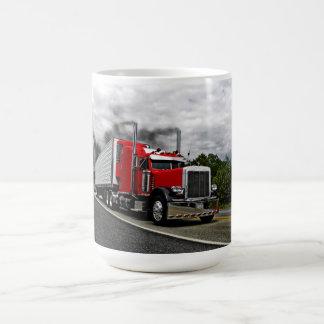 Red & Rollin' Peterbilt Mug