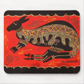 RED ROO MOUSE PAD