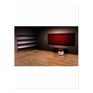 Red Room Design Postcard