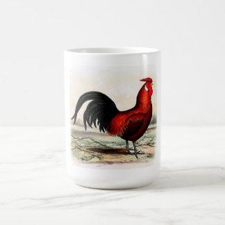 Red Rooster Coffee Mug, Big Cupa Coffee Mug