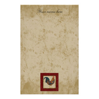 Red Rooster Stationery