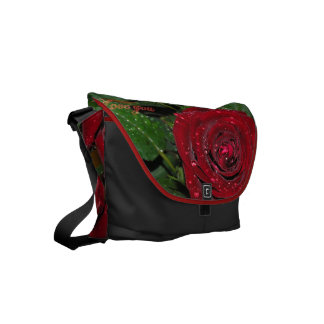 Red Rose #2 Courier Bags