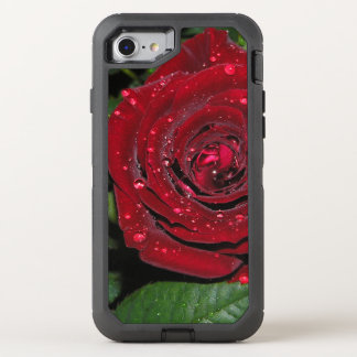 Red Rose #2 OtterBox Defender iPhone 7 Case