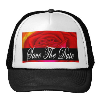 Red Rose Art Save The Date - Multi Hat