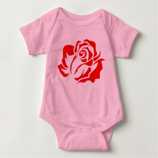 Red Rose Bloom Customizable T Shirt