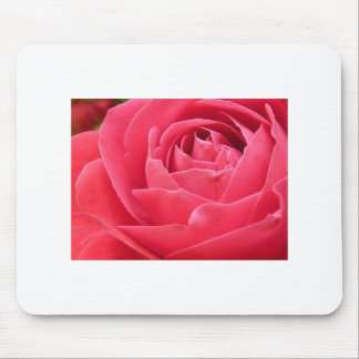Red Rose Bloom Mousepad