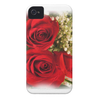 Red Rose bouquet Custom Case-Mate ID iPhone 4/4S iPhone 4 Covers