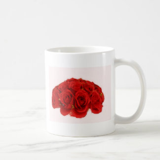Red Rose Bouquet Coffee Mug