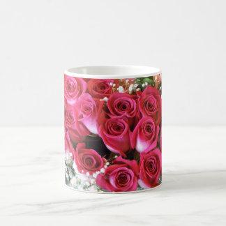 Red Rose Bouquet Mug