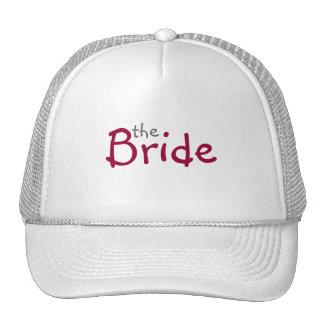 Red Rose Bride Hat