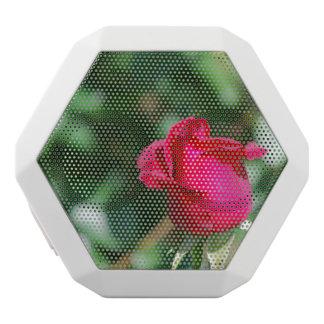 Red Rose Bud White Boombot Rex Bluetooth Speaker