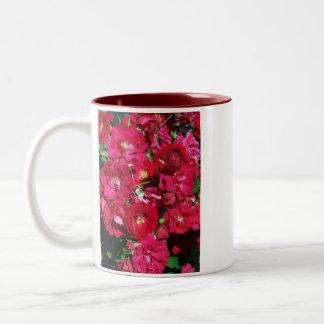 Red Rose Bush Mug