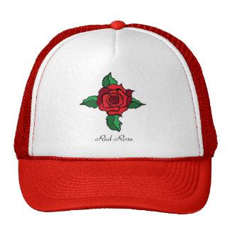 Red Rose Cap