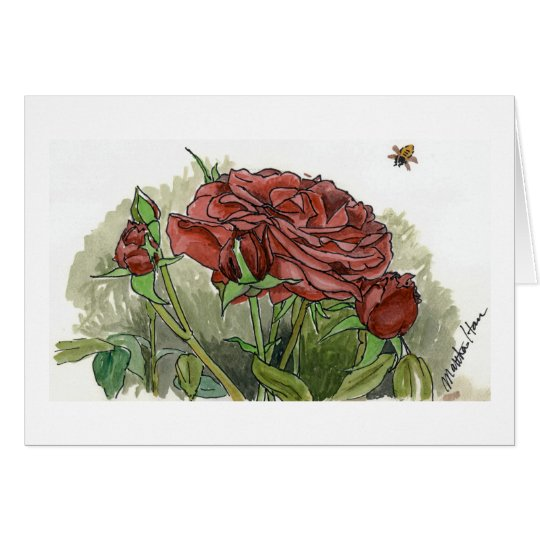 Red Rose Cards