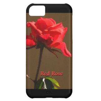 Red Rose Cover For iPhone 5C