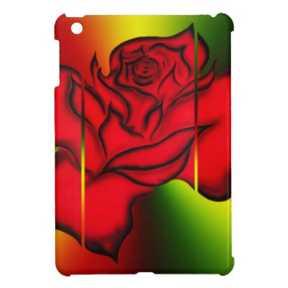 Red rose case for the iPad mini
