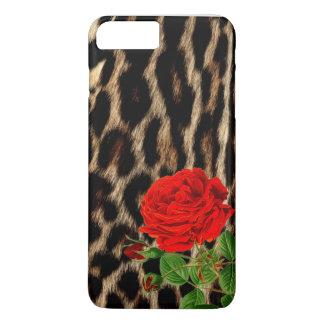 Red rOSE Cheetah iPhone 7 Plus Case