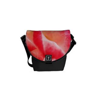 Red Rose Close Up Small Bag Messenger Bag