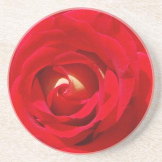 Red Rose Beverage Coaster