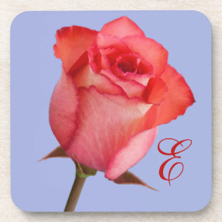 Red Rose Customizable Coaster