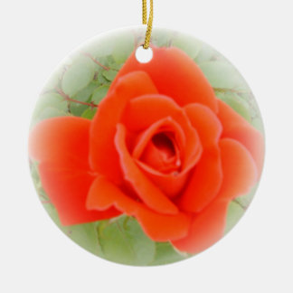 Red Rose Ornaments