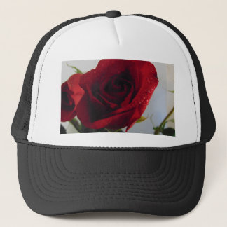 Red Rose Delight Trucker Hat