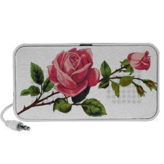 Red Rose Doodle Speaker
