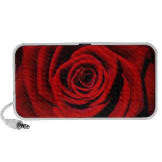 Red Rose Doodle Portable Speaker
