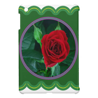Red Rose Flower Floral Sensual Image 100 gifts Cover For The iPad Mini