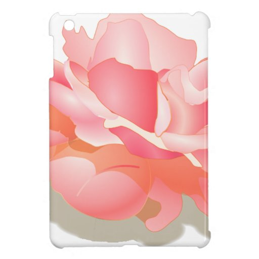 RED ROSE FLOWER IN BLOOM. BIG ROSE GIFTS COVER FOR THE iPad MINI