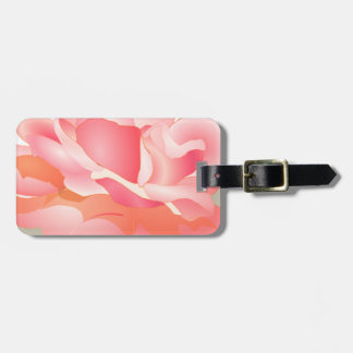 RED ROSE FLOWER IN BLOOM BIG ROSE GIFTS TAGS FOR LUGGAGE
