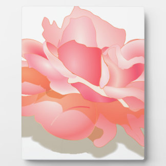 RED ROSE FLOWER IN BLOOM. BIG ROSE GIFTS DISPLAY PLAQUES