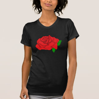 Red Rose Graphic Tshirts