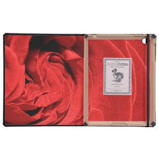 Red Rose iPad Folio Case
