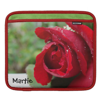 Red Rose - iPad Rickshaw Sleeve iPad Sleeve