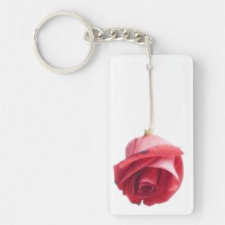 Red Rose Key Ring