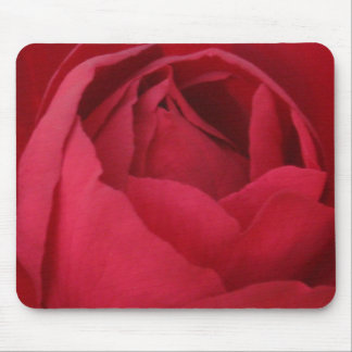 Red Rose Mouse Pad - Mouse mat