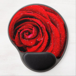 Red Rose mousepad gel mouse pad