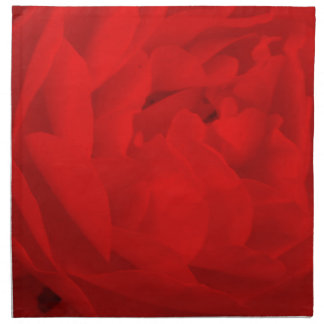 Red Rose Napkins