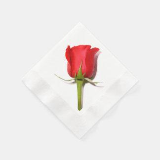 Red Rose Napkins Paper Napkins