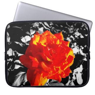 Red rose  Neoprene Laptop Sleeve
