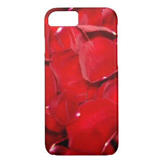 red rose petals iPhone 8/7 case