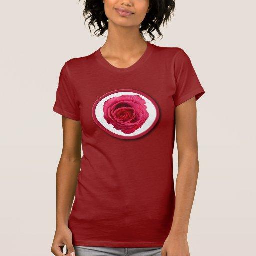 Red Rose red Ladies T-shirt